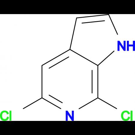 5,7-DICHLORO-1H-PYRROLO[2,3-C]PYRIDINE