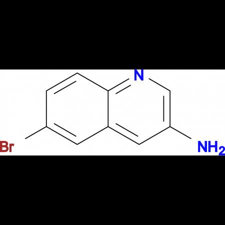6-BROMOQUINOLIN-3-AMINE