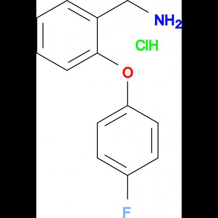 2-(4-FLUOROPHENOXY)BENZYLAMINE HCL