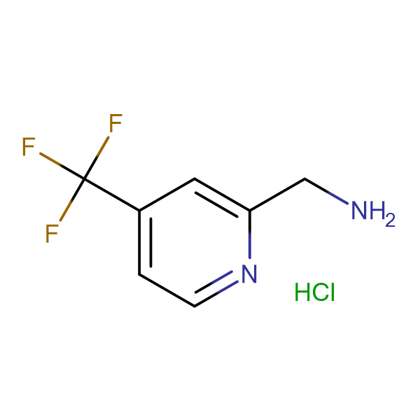 C-(4-Trifluoromethyl-pyridin-2-yl)methylamine hydrochloride