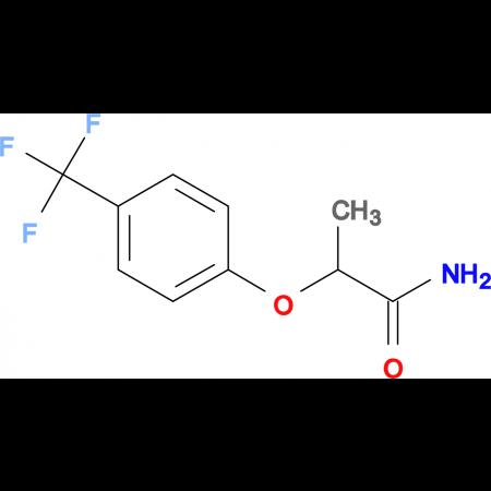2-(4-(TRIFLUOROMETHYL)PHENOXY)PROPANAMIDE