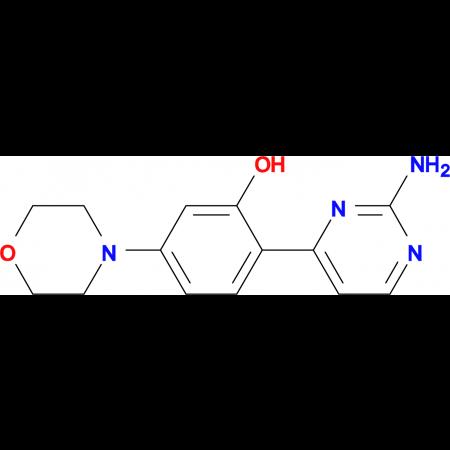2-(2-AMINOPYRIMIDIN-4-YL)-5-MORPHOLINOPHENOL