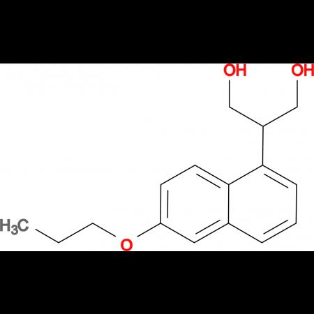 2-(6-PROPOXYNAPHTHALEN-1-YL)PROPANE-1,3-DIOL