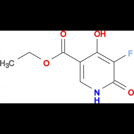 ETHYL 5-FLUORO-4-HYDROXY-6-OXO-1,6-DIHYDROPYRIDINE-3-CARBOXYLATE