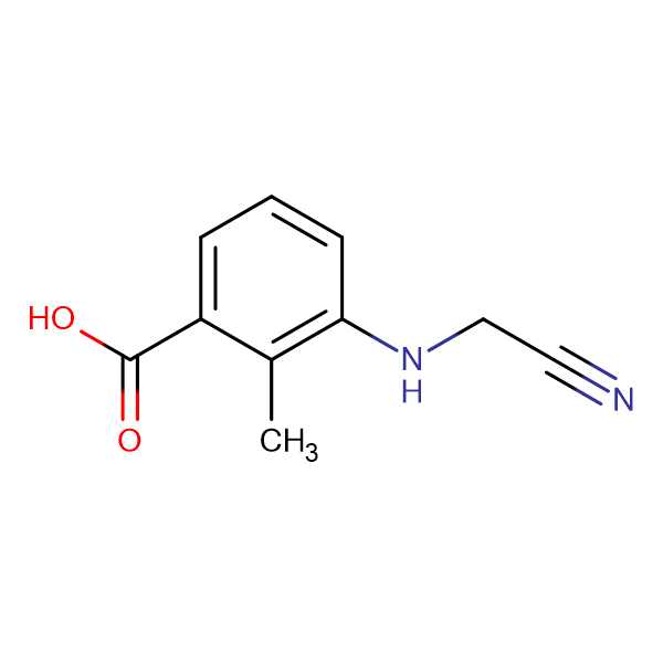 3-(CYANOMETHYLAMINO)-2-METHYLBENZOIC ACID