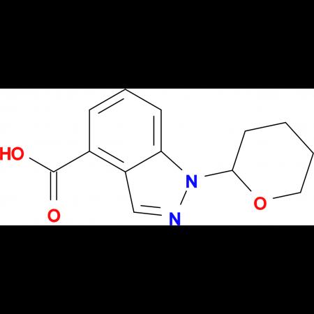 1-(TETRAHYDRO-2H-PYRAN-2-YL)-1H-INDAZOLE-4-CARBOXYLIC ACID