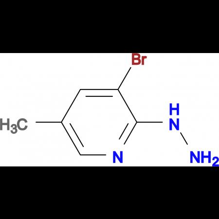 1-(3-BROMO-5-METHYLPYRIDIN-2-YL)HYDRAZINE