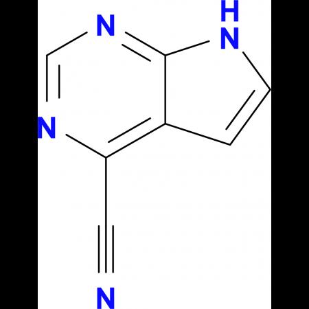7H-PYRROLO[2,3-D]PYRIMIDINE-4-CARBONITRILE