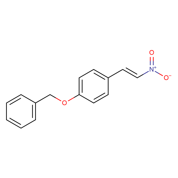 1-((4-((E)-2-NITROVINYL)PHENOXY)METHYL)BENZENE