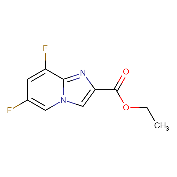 ETHYL 6,8-DIFLUOROIMIDAZO[1,2-A]PYRIDINE-2-CARBOXYLATE