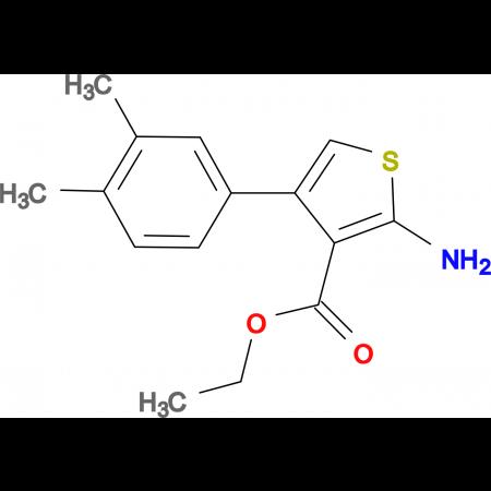 ethyl 2-amino-4-(3,4-dimethylphenyl)thiophene-3-carboxylate