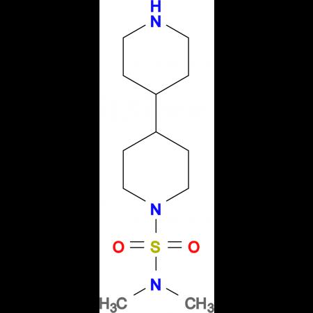N,N-dimethyl-4,4'-bipiperidine-1-sulfonamide