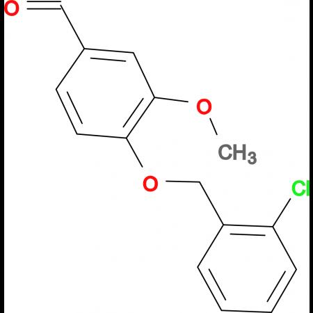 4-[(2-chlorobenzyl)oxy]-3-methoxybenzaldehyde
