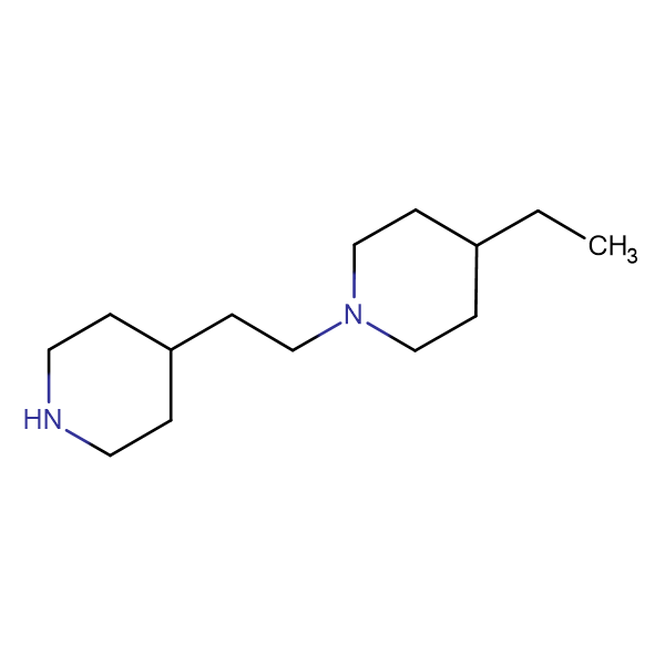 4-ethyl-1-(2-piperidin-4-ylethyl)piperidine