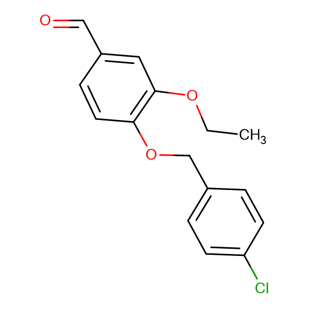 4-[(4-chlorobenzyl)oxy]-3-ethoxybenzaldehyde