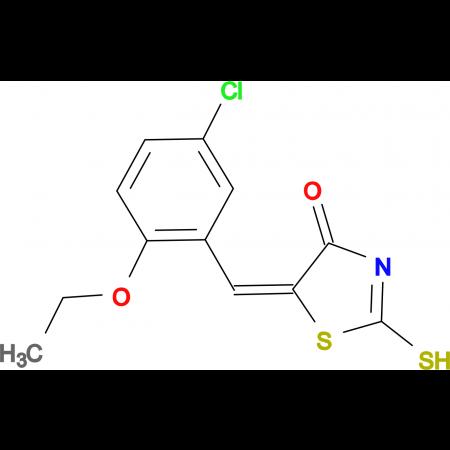 (5E)-5-(5-chloro-2-ethoxybenzylidene)-2-mercapto-1,3-thiazol-4(5H)-one