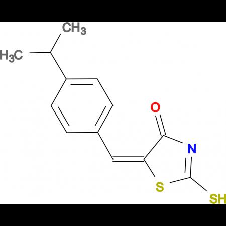 (5E)-5-(4-isopropylbenzylidene)-2-mercapto-1,3-thiazol-4(5H)-one