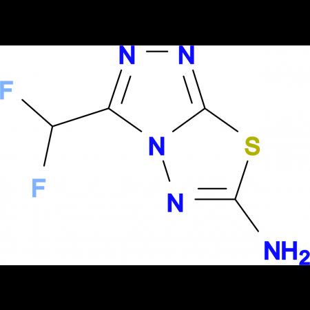 3-(difluoromethyl)[1,2,4]triazolo[3,4-b][1,3,4]thiadiazol-6-amine