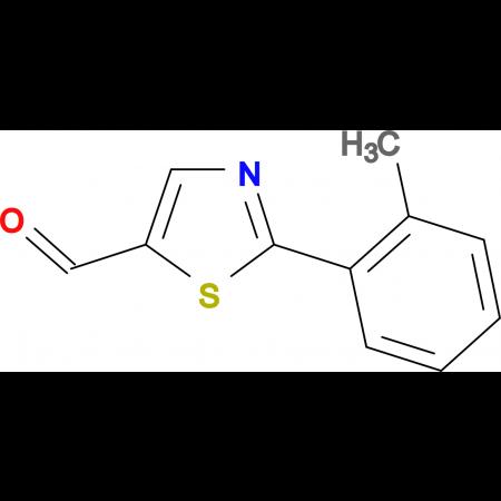 2-(2-methylphenyl)-1,3-thiazole-5-carbaldehyde