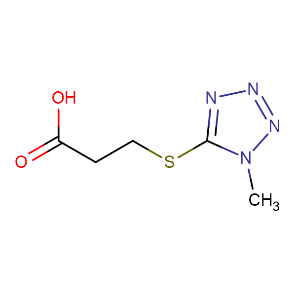 3-[(1-methyl-1H-tetrazol-5-yl)thio]propanoic acid