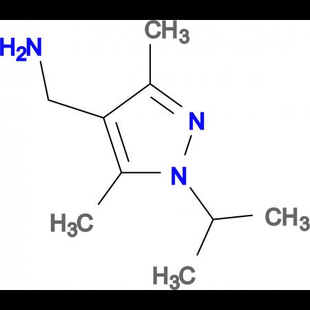 1-(1-isopropyl-3,5-dimethyl-1H-pyrazol-4-yl)methanamine
