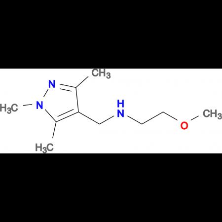(2-methoxyethyl)[(1,3,5-trimethyl-1H-pyrazol-4-yl)methyl]amine