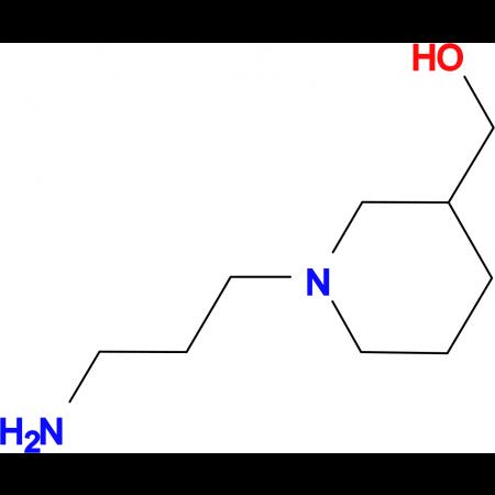 [1-(3-aminopropyl)piperidin-3-yl]methanol