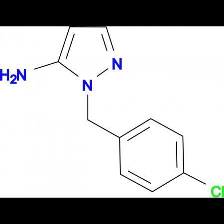 1-(4-chlorobenzyl)-1H-pyrazol-5-amine