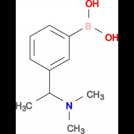 {3-[1-(dimethylamino)ethyl]phenyl}boronic acid