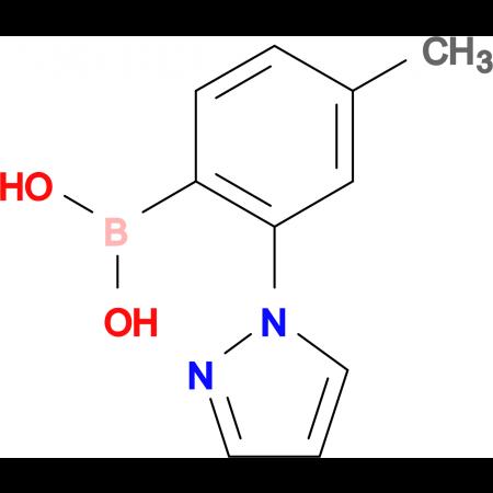 [4-methyl-2-(1H-pyrazol-1-yl)phenyl]boronic acid