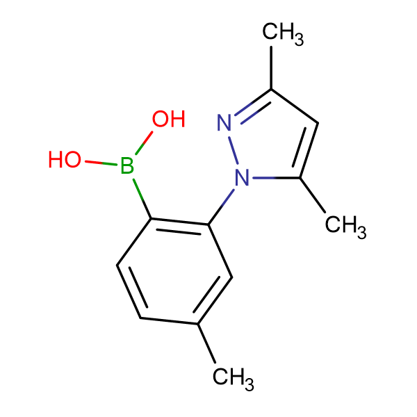 [2-(3,5-dimethyl-1H-pyrazol-1-yl)-4-methylphenyl]boronic acid