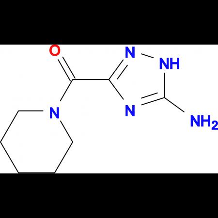 3-(1-piperidinylcarbonyl)-1H-1,2,4-triazol-5-amine
