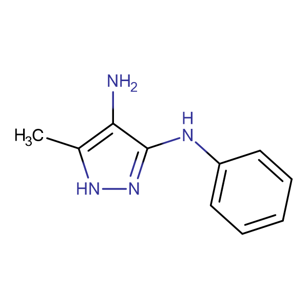 5-methyl-N~3~-phenyl-1H-pyrazole-3,4-diamine