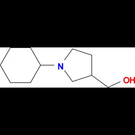 (1-cyclohexyl-3-pyrrolidinyl)methanol