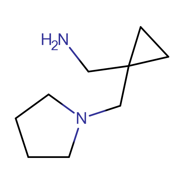 1-[1-(1-pyrrolidinylmethyl)cyclopropyl]methanamine