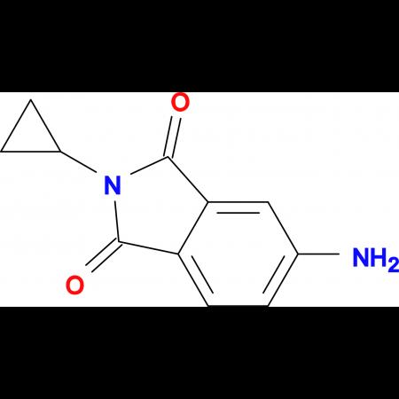 5-amino-2-cyclopropyl-1H-isoindole-1,3(2H)-dione