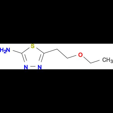 5-(2-ethoxyethyl)-1,3,4-thiadiazol-2-amine