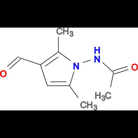 N-(3-formyl-2,5-dimethyl-1H-pyrrol-1-yl)acetamide