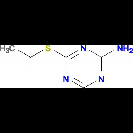 4-(ethylthio)-1,3,5-triazin-2-amine