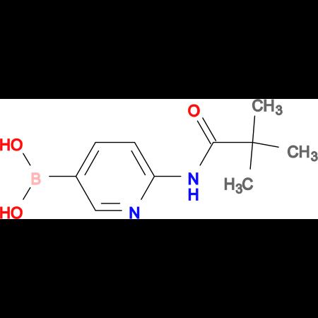 {6-[(2,2-dimethylpropanoyl)amino]-3-pyridinyl}boronic acid