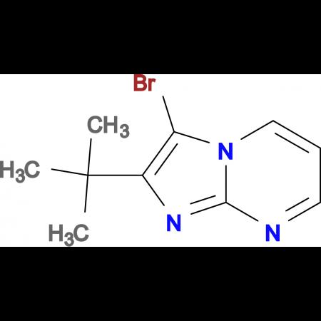 3-bromo-2-tert-butylimidazo[1,2-a]pyrimidine