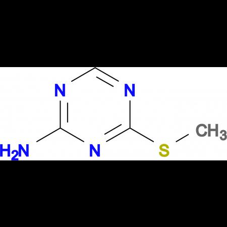 4-(methylthio)-1,3,5-triazin-2-amine