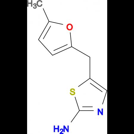 5-[(5-methyl-2-furyl)methyl]-1,3-thiazol-2-amine