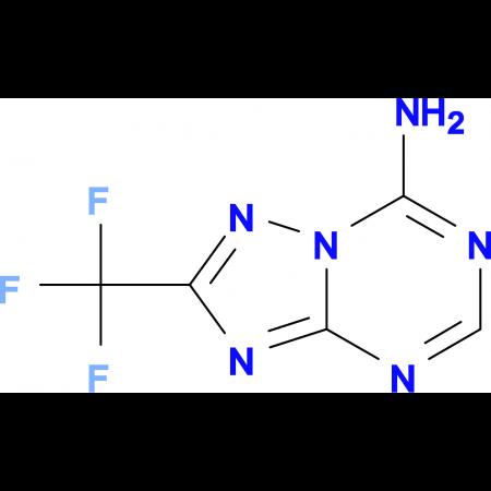 2-(trifluoromethyl)[1,2,4]triazolo[1,5-a][1,3,5]triazin-7-amine