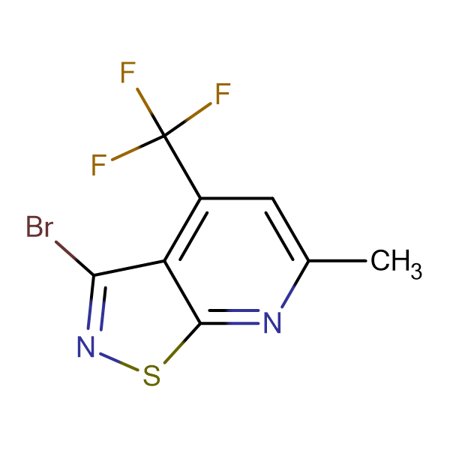 3-bromo-6-methyl-4-(trifluoromethyl)isothiazolo[5,4-b]pyridine