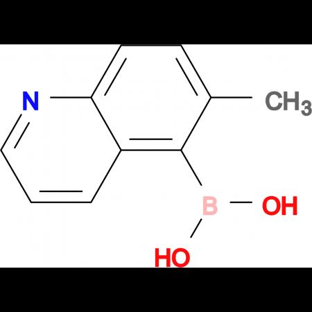 (6-methyl-5-quinolinyl)boronic acid