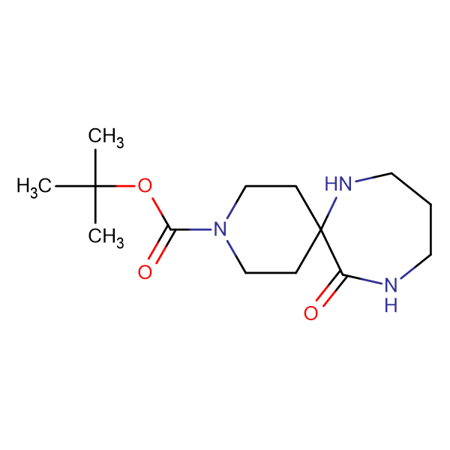 tert-butyl 12-oxo-3,7,11-triazaspiro[5.6]dodecane-3-carboxylate