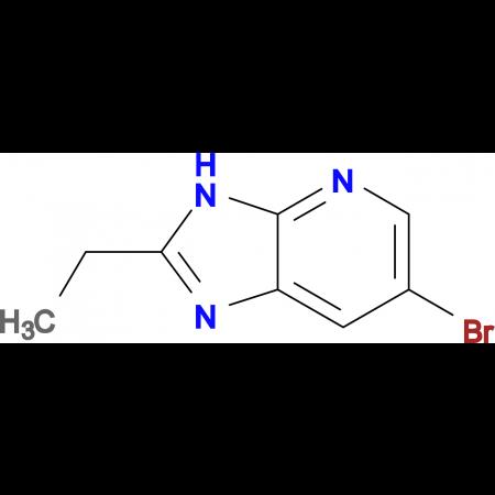 6-bromo-2-ethyl-3H-imidazo[4,5-b]pyridine