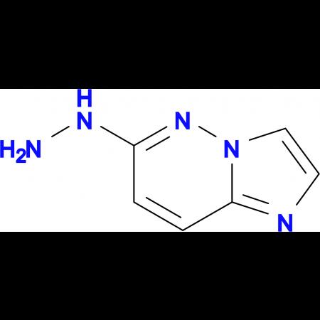 6-hydrazinoimidazo[1,2-b]pyridazine