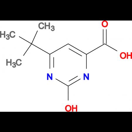 6-tert-butyl-2-hydroxy-4-pyrimidinecarboxylic acid
